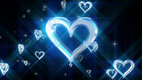 Skład z płodozmiennym sercem zdjęcie wideo