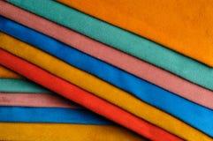 Skład z różnorodnymi kolorowymi skórami, Obraz Stock