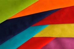 Skład z różnorodnymi kolorowymi skórami Zdjęcie Stock