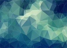 Skład z trójboków geometrycznymi kształtami Fotografia Royalty Free