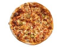składników włocha pizza obraz stock