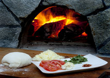 składnik pizza obrazy stock