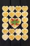 składniki żywności kulinarni włoskich Fotografia Stock
