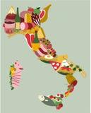 składniki żywności kulinarni włoskich Zdjęcie Stock