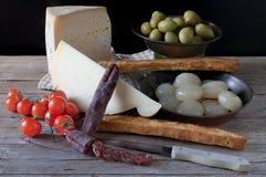składniki żywności kulinarni włoskich Zdjęcia Stock