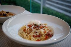 składniki żywności kulinarni włoskich Zdjęcia Royalty Free