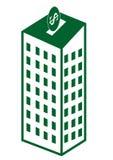 SKŁADOWEGO budynku pieniądze Zdjęcie Royalty Free