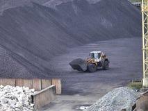 Składowy ciężki węgiel zdjęcie royalty free