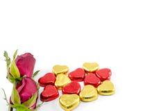 składu dzień eps10 serc róż s valentine Obrazy Stock