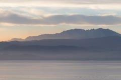 składu halny naturalny pasma światło słoneczne Zdjęcia Stock