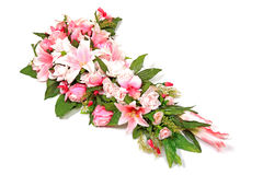 składu kwiatu strzału studia ślub zdjęcia royalty free