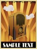 składu stary radia wektor ilustracji