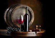 składu wino Fotografia Stock