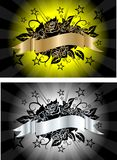 składu zmroku róży wektor Obraz Royalty Free