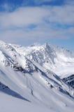 skłonu prochowy śnieg Obraz Stock
