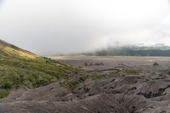 Skłony góra Bromo zdjęcie royalty free