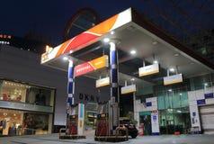 SK汽油加油站汉城韩国 库存照片