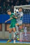 SK γρήγορο εναντίον της Αυστρίας Wien Στοκ φωτογραφία με δικαίωμα ελεύθερης χρήσης