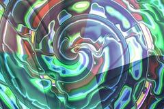 skład abstrakcyjna spirali Zdjęcie Royalty Free