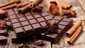 Skład czekolada Fotografia Royalty Free