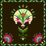 Skład dekoracyjni dandelions Zdjęcie Royalty Free