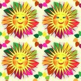 Skład dekoracyjni dandelions Fotografia Royalty Free