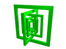 skład geometria Obraz Royalty Free