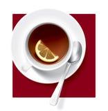 skład herbata royalty ilustracja