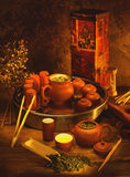 skład herbata obraz stock