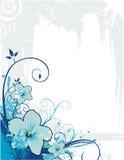 skład kwiat wektora Obrazy Royalty Free