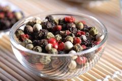 skład mieszane pepper obrazy stock
