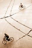 skład na rowerze Fotografia Royalty Free