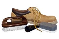 Skład z butem. Obrazy Royalty Free