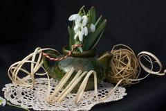 Skład z kwiatami Zdjęcia Royalty Free