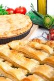 składników kulebiaki dwa Zdjęcie Stock