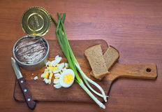 składnik kanapka krajowa Obraz Royalty Free