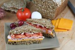 składnik karmowa kanapka Zdjęcia Stock