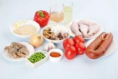 Składniki dla kucharstwa Fotografia Stock