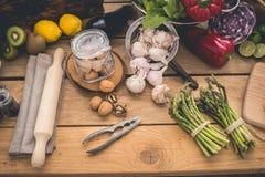 Składniki dla kucharstwa Zdjęcia Stock