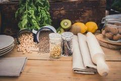 Składniki dla kucharstwa Obrazy Royalty Free
