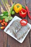 Składniki dla Thai kuchni Zdjęcie Royalty Free