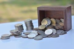 Składowi savings Zdjęcia Royalty Free