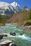 składu natury rzeki wiosna Obrazy Royalty Free