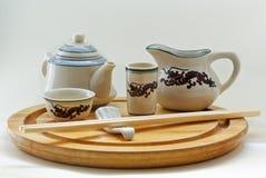 składu Oriental tableware Zdjęcie Stock