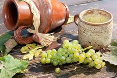 składu winogrono Fotografia Royalty Free