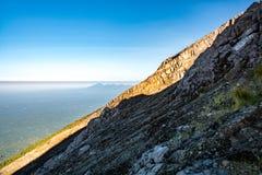 Skłon góry Agung wulkan Fotografia Stock
