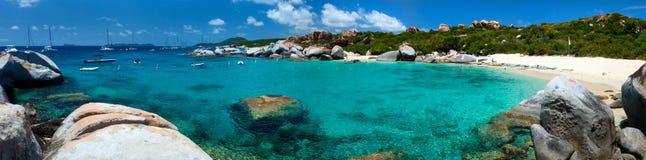 Skąpanie panorama Zdjęcie Royalty Free
