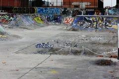 Sk8 park Royalty-vrije Stock Foto's