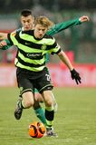 SK Rapid vs. Celtic Glasgow F.C. Stock Image