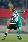 SK Rapid vs. Celtic Glasgow F.C. Stock Photo